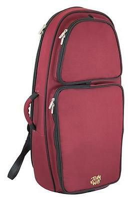 Tom and Will 26EU-359 Euphonium Gig Bag Case, Burgundy Red **NEW**
