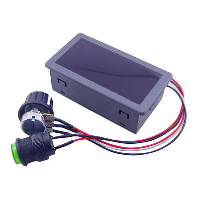 DC6-30V 12V 24V Max 8A Motor PWM Speed Controller With Digital Display Switch SY