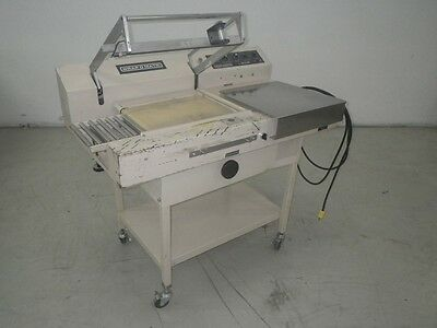 Wrapomatic Semi-Automatic L-Bar Sealer Model Lc 16 X 20
