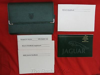 2011 Jaguar X-Type Owners Manual with Case
