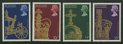 Great Britain   1978   Scott # 835-838    Mint Never Hinged Set
