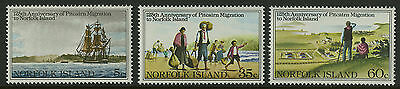 Norfolk Islands   1981   Scott # 277-279    Mint Never Hinged Set