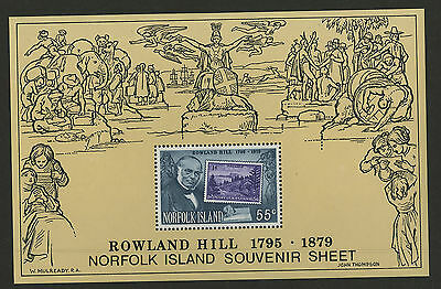 Norfolk Islands   1979   Scott # 248a    Mint Never Hinged Souvenir Sheet