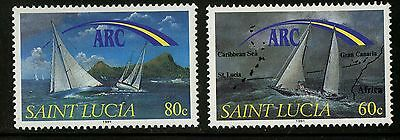 St Lucia   1991   Scott # 989-990   Mint Never Hinged Set