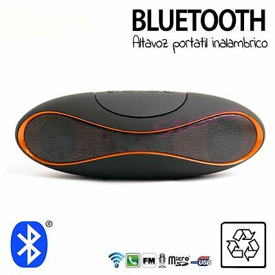 Mini Altavoz bluetooth MI X6 NARANJA altavoces Portátil Para Mp3 Móvil Tablet