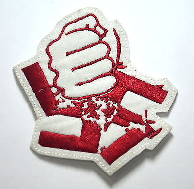 ANTI NAZI BREXIT RASCISM  Embroidered Sew Iron On Cloth Patch Badge APPLIQUE