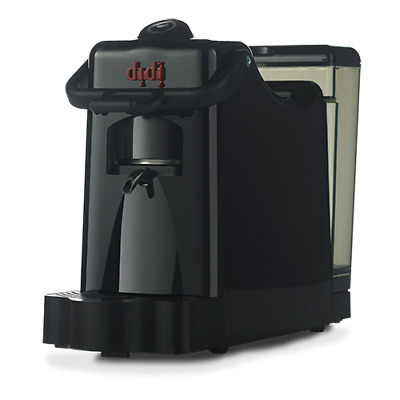 *NEW* BLACK ESE POD COFFEE MACHINE  100% Made in Italy