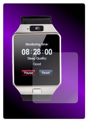 Set of 4 Screen Protector Full display cover For SmartWatch DZ09