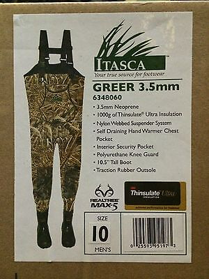 Itasca (Columbia) Chest waders,3.5 mm 1000 gr Thinsulate, 2 patterns Marsh King