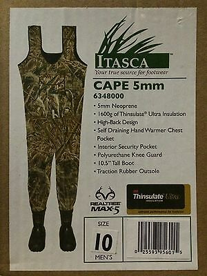 Itasca (Columbia) Chest waders,5mm,1600g Thinsulate, Max-5/Bottomland Marsh King
