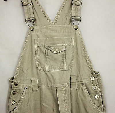VTG LADIES CREAM CORDUROY WOMENS DUNGAREES  90s GRUNGE TAPERED MOMS HIP HOP