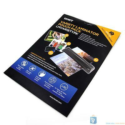 Variety Pack Laminating Pouches 150 MCN (PK 50)