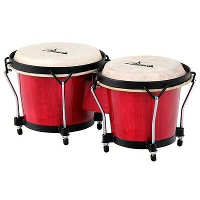 28576  - XDrum Bongos Club estándar burdeos