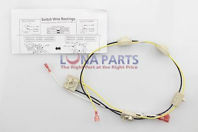 Genuine OEM WB18T10344 GE Cooktop Harness Switch PS953099