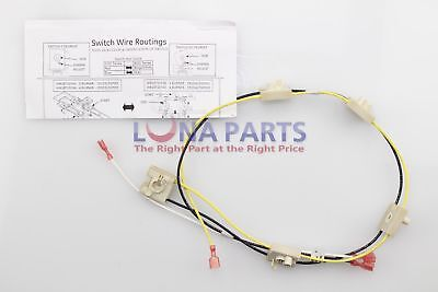 Genuine OEM WB18T10344 GE Cooktop Harness Switch