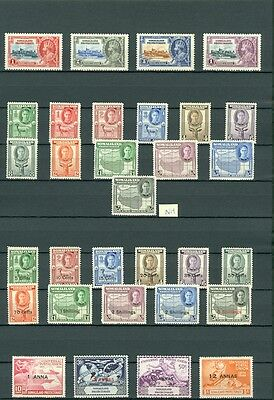 SOMALILAND : Beautiful collection all MOG & VF. Some NH included. SG Cat £338.00
