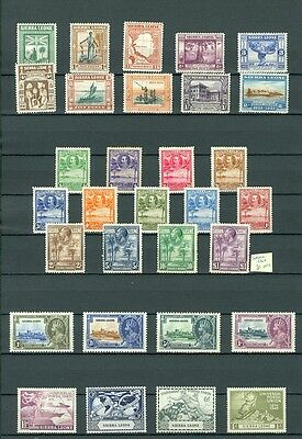 SIERRA LEONE : Beautiful collection all MOG & in Very Fine Condition SG Cat £593