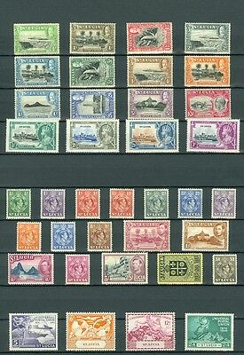 ST LUCIA: Beautiful collection all Mint OG & in Very Fine Condition. SG Cat £199