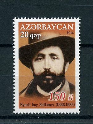 Azerbaijan 2016 MNH Eyneli Sultanov 1v Set Writers Authors Poets Stamps