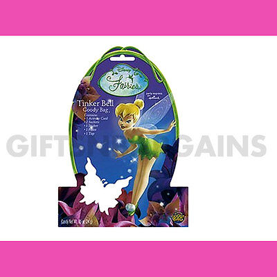 Tinkerbell Goody Bag Girls Favour Fairy Birthday Party award prize reward gifts