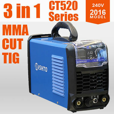 NEW MISHTO CT520 DC TIG Plasma Cutter Portable Inverter Welder And Stick Welding