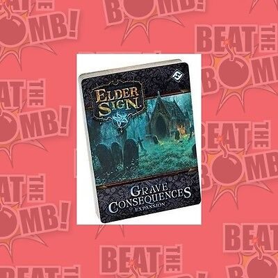 Elder Sign Grave Consequences Expansion  - BRAND NEW