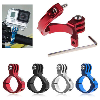 Black Aluminum Bike Handlebar Mount for for Gopro Hero 1/2/3/3+/4 USA