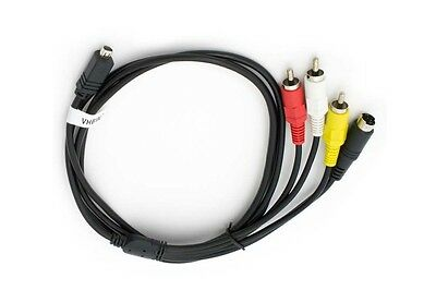 AV cable para Sony DCR-PC103E DCR-PC105E