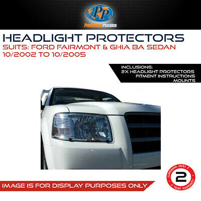 Headlight Protector To Suit Ford Falcon Ba/bf (Not Mk11) 2002-2005