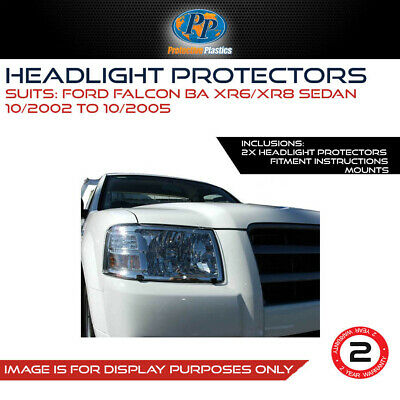 Headlight Protector To Suit Ford Falcon Ba/xr6/xr8 2002-2008
