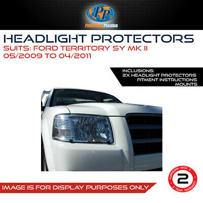 Headlight Protector To Suit Ford Territory Sy M11 2009 - 2011