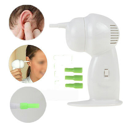 Electric Ear Vacuum Cleaner Wax Dirt Fluid Remover Health Products Practical