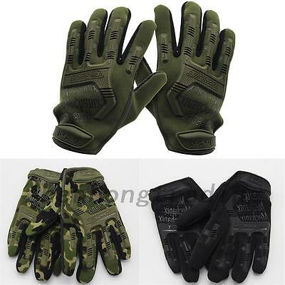 New Outdoor Sports Military Airsoft Hunting Cycling Army Combat Tactical Gloves