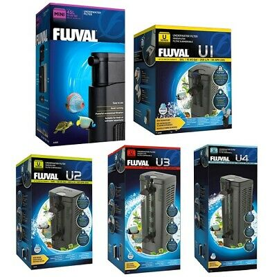 Fluval Mini, U1, U2, U3, U4 Underwater Internal Aquarium Fish Tank Power Filter