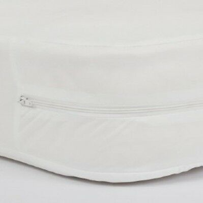 Full Care Bed Bug Dust Mite Zipped Waterproof Mattress Cover - Double
