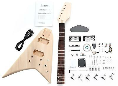 Electric Guitar Diy Assembly Kit Do It Yourself Home Made Built Rr Style Set