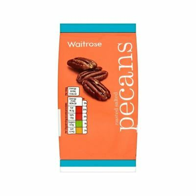 Roasted Salted Pecan Nuts Waitrose 100g