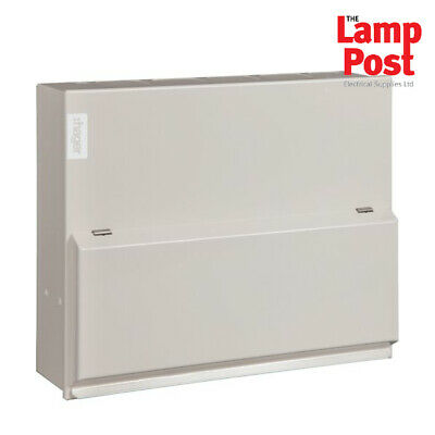 Hager VML110 - 10 Way 100A Switch Disconnector Incomer METAL Consumer Unit Amen3