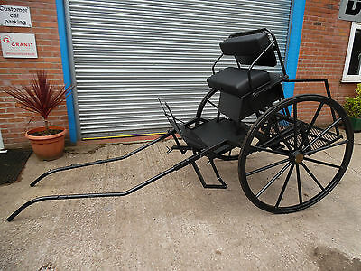 **Excercise 2 Seater Horse Drawn Pony Trap, Gig, Cart**