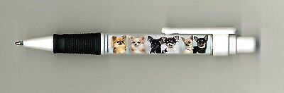Chihuahua Dog Design Retractable Acrylic Ball Pen by paws2print