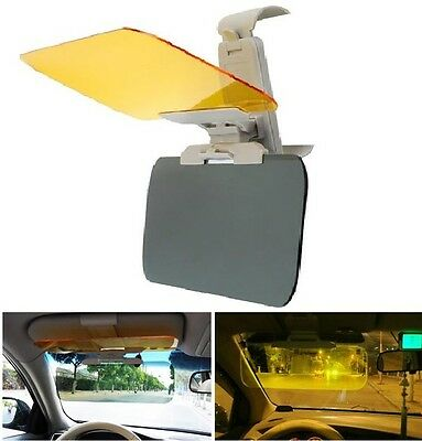 Universal Anti-Glare Car Flip Down Shield Sun Visor Day Night Vision HD UV AC48