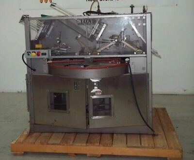 Alloyd 4 Station Rotary Blister Machine Model 4Sc 6 9