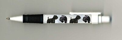 Kerry Blue Terrier Dog Design Retractable Acrylic Ball Pen by paws2print