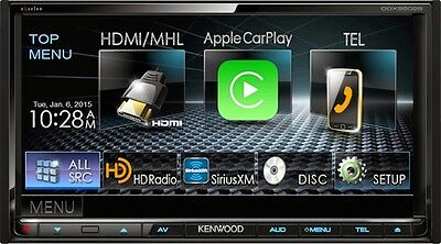Kenwood eXcelon DDX9902S Apple Car Play Android Auto Receiver w/ Bluetooth HD B