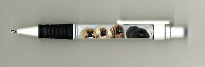 Pekingese Dog Design Retractable Acrylic Ball Pen by paws2print