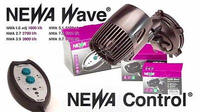 NEWA Wave Circulation Pump Powerhead Flow Control Reef Marine Fish Tank