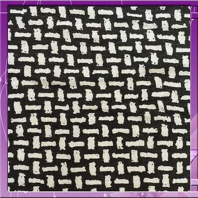 """100% Rayon Challis Japanese Weave Print Black And White Fabric 58"""" Wide Bty"""