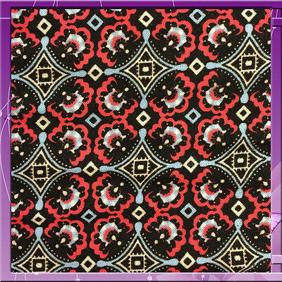 100% Rayon Challis Asian Inspired Print 60 Inches Wide Fabric Sold By The Yard