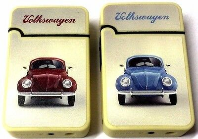 Vw Classic Beetle Car Windproof Turbo Jet Flame Cigar Cigarette Gas Lighter