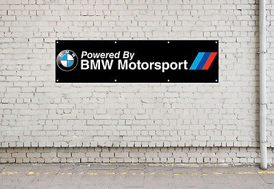 BMW MOTORSPORT LOGO workshop, garage, office or showroom pvc banner